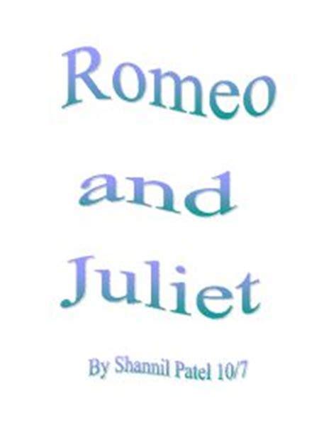 Romeo and juliet essays on love